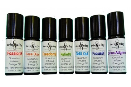 Trinfinity8 Quantum-Infused Energy Oil - PASSION 8