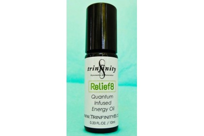 Trinfinity8 Quantum-infused Energy Oil - RELIEF 8
