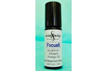 Trinfinity8 Quantum-infused Energy Oil - FOCUS8